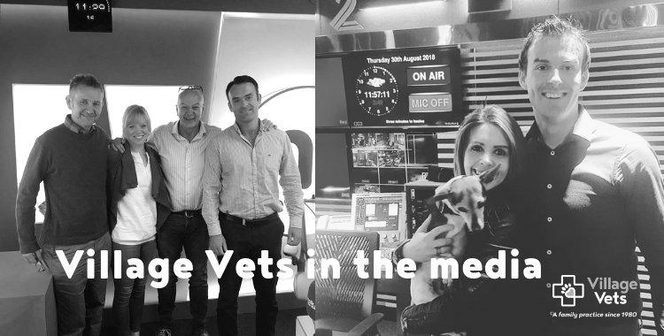 village vets in newstalk, village vets with Nicky Byrne and Jenny Greene
