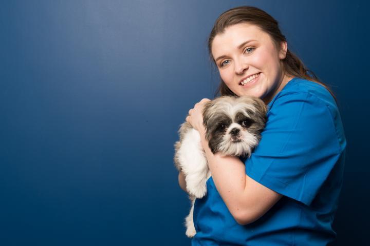 Hannah Kinsella veterinary nurse, village vets dunshaughlin, dunshaughlin vets, meath vet