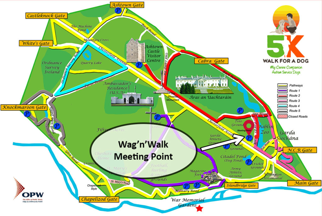 walk nwag, things to do in dublin, phoenix park events, charity walk dublin